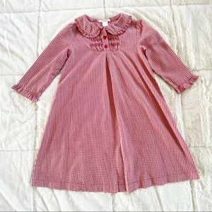 Janie and Jack red houndstooth dress